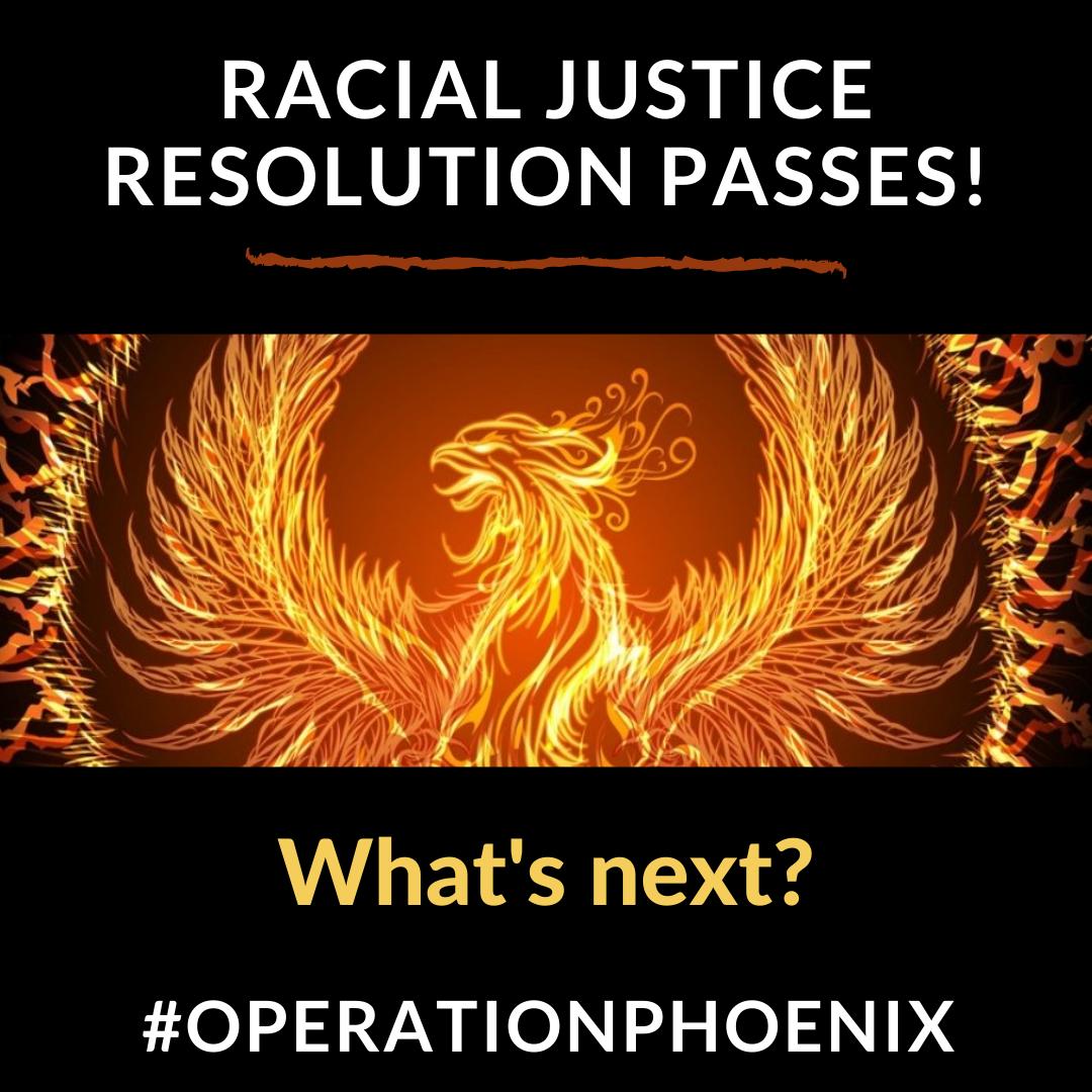 Resolution PASSED; Budget on Tonight's Agenda – Operation Phoenix R.I.S.E.