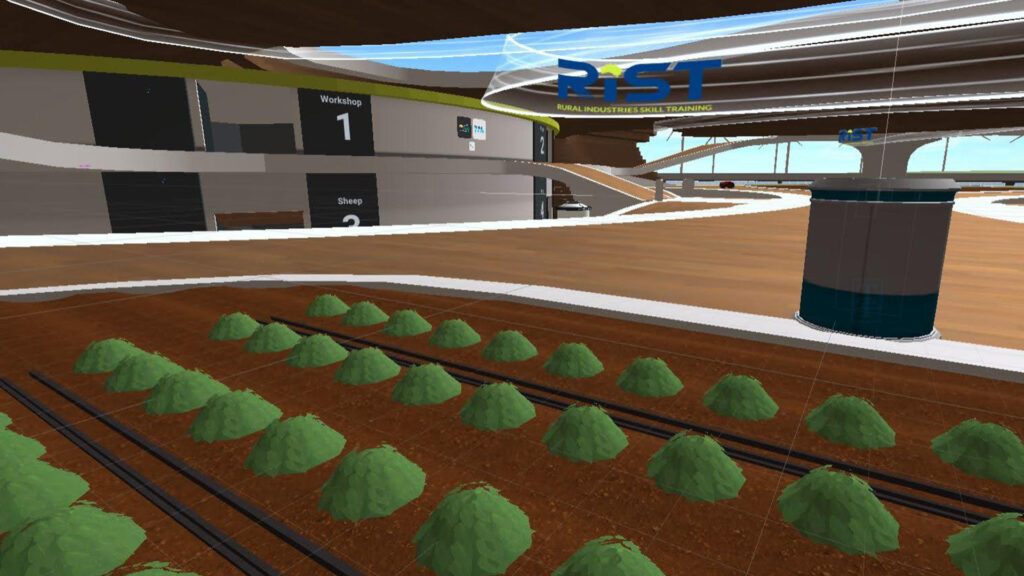 virtual reality production in agriculture