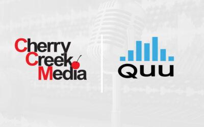 Quu and Cherry Creek Media Sign Multi-Year Partnership