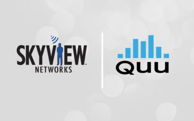 Quu and Skyview Networks Align to Bring New Revenue Opportunities to Broadcasters  and Significant Increased Return on Investment to Advertisers