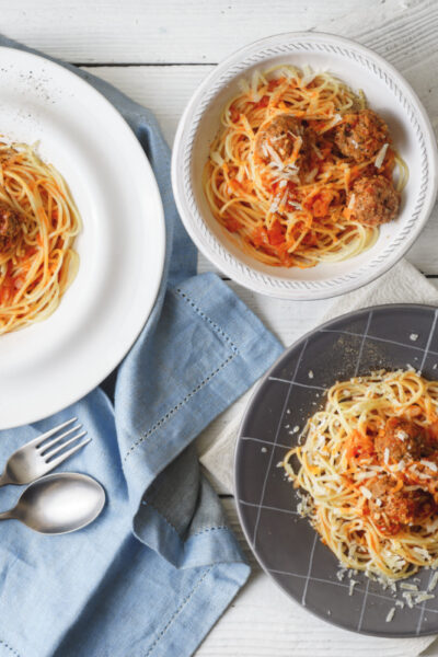 World's Easiest Meatballs & Tomato Sauce