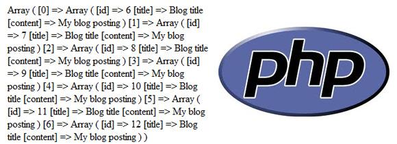 Paginación de matrices o Arrays con PHP