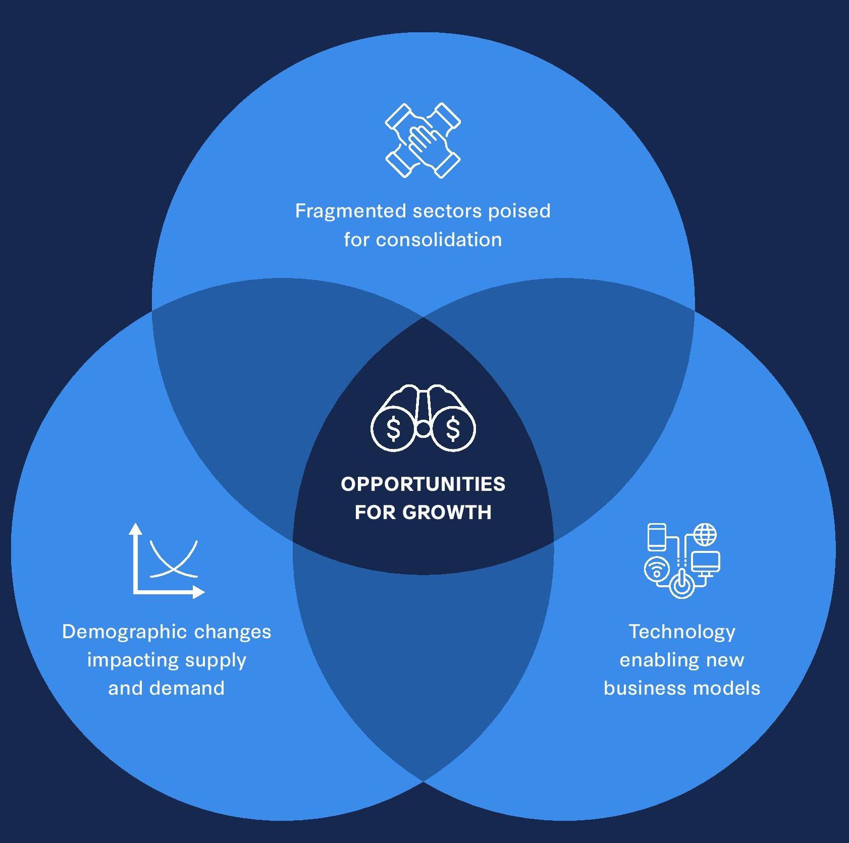 Growth catalysts diagram