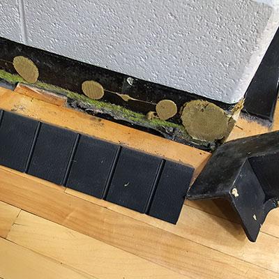 Rubber Base Falling off wall