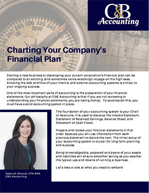 Charting Your Companys Financial Plan cover