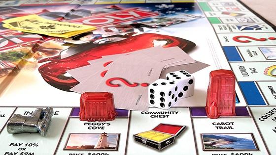 monopoly fun at work