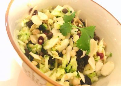 4 Grain Salad with Honey & Lemon Dressing