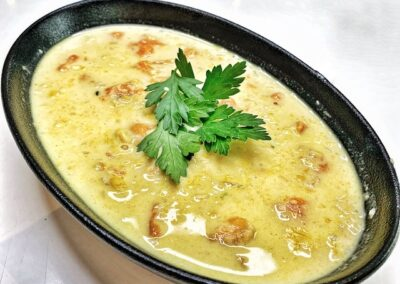 Sweet Potato & Corn Chowder