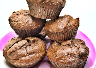 Chocolate and Carrot Muffins