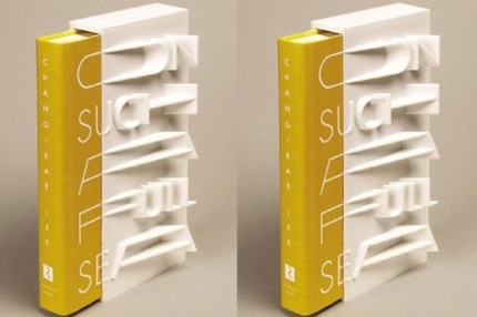 """Chang-rae Lee's """"On Such a Full Sea"""" 3D printed book cover"""