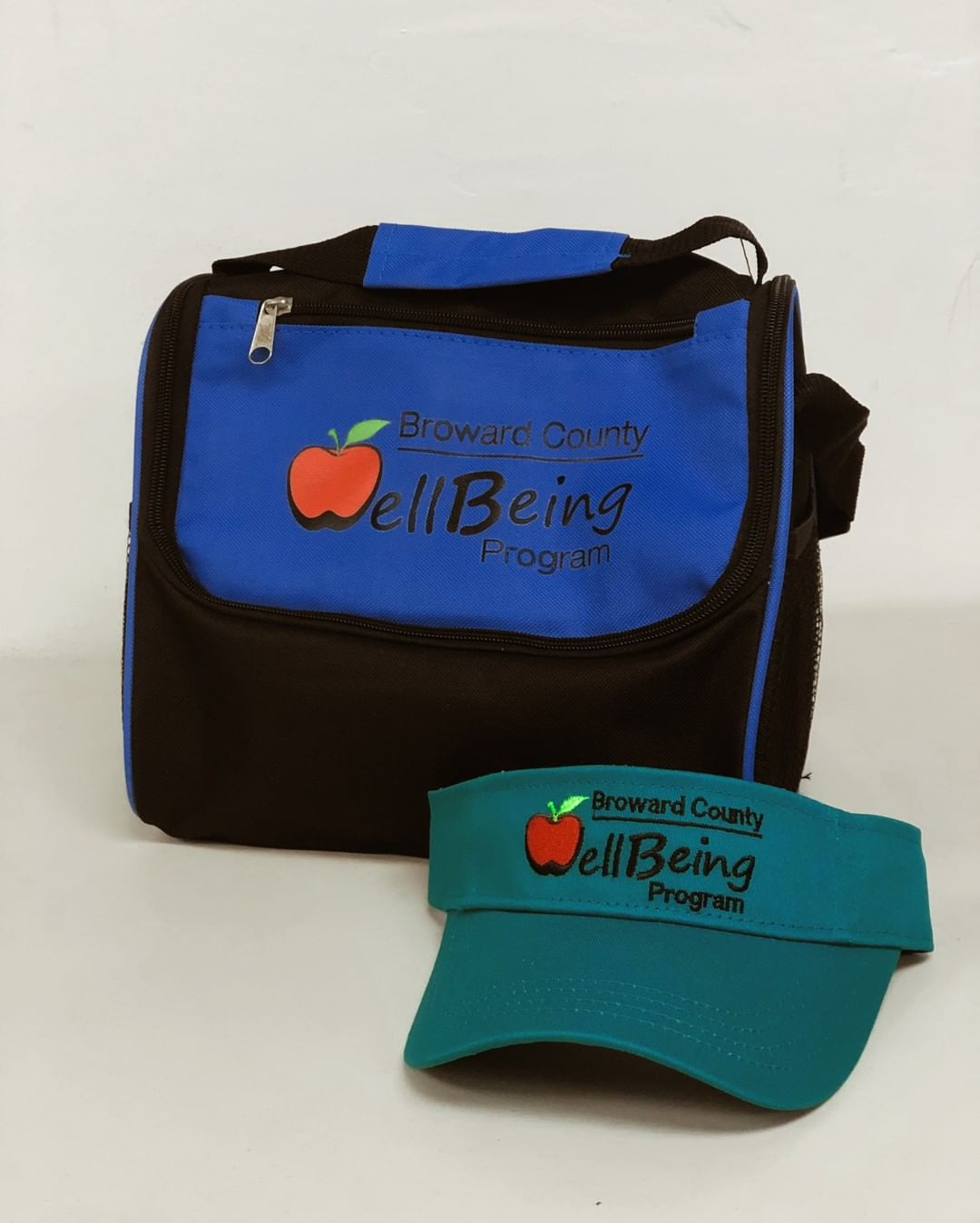 Broward County Well Being Hat and Lunch Box