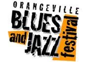 Orangeville Blues and Jazz Festival logo