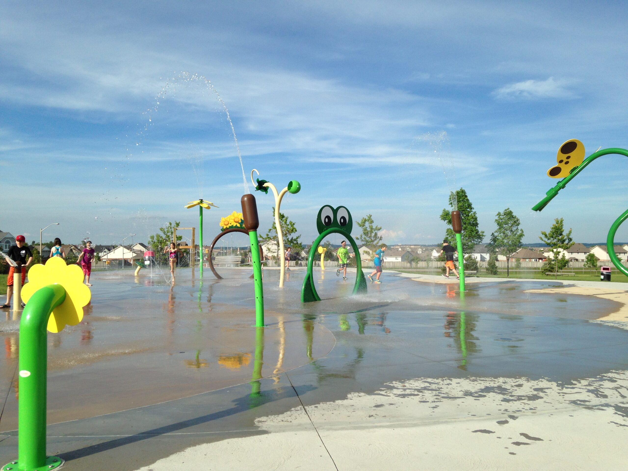 Fendley Park Splashpad