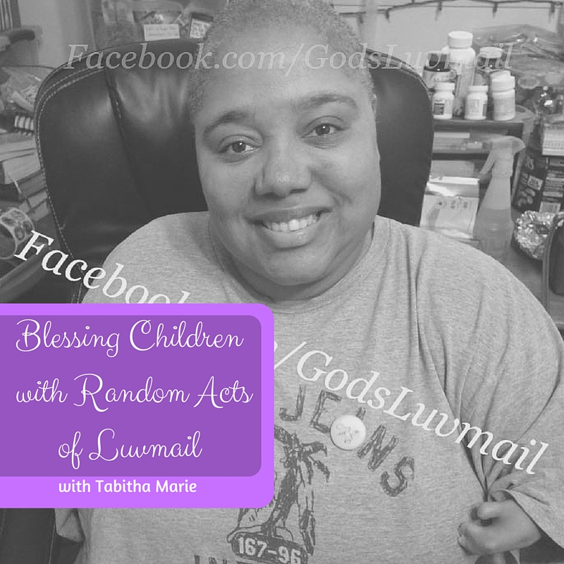 Blessing Children with Random Acts of Luvmail
