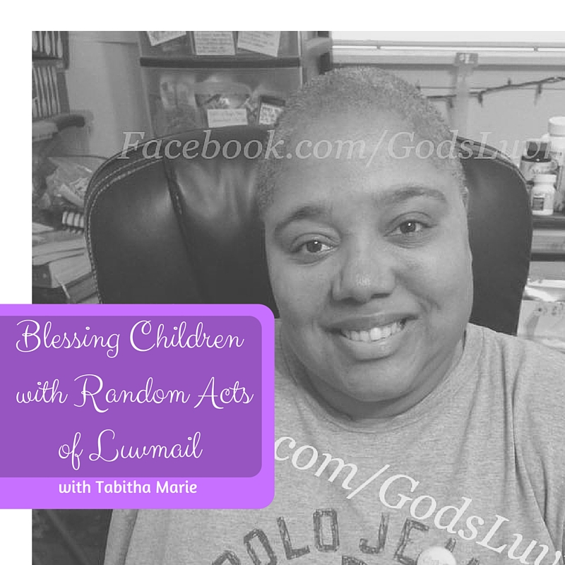Blessing Children with Random Acts of Luvmail2