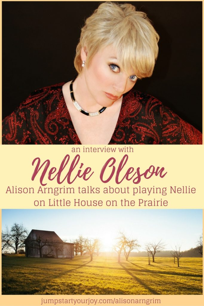 If you were a Little House on the Prairie fan, you're going to love this interview with Alison Arngrim, who played Nellie Oleson. She's written a book and shared her story - and, she's hilarious and powerful. Click to listen, pin for later. www.jumpstartyourjoy,com