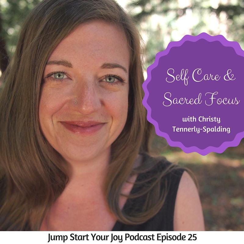 Christy Tending on Jump Start Your Joy
