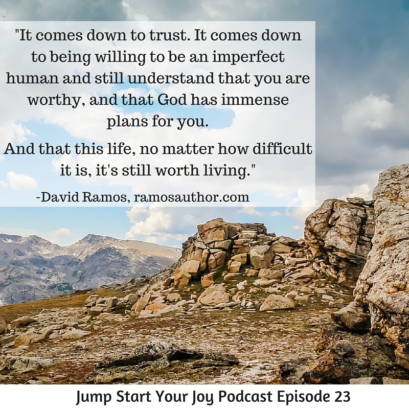 An interview with David Ramos on Jump Start Your Joy about the Old Testament