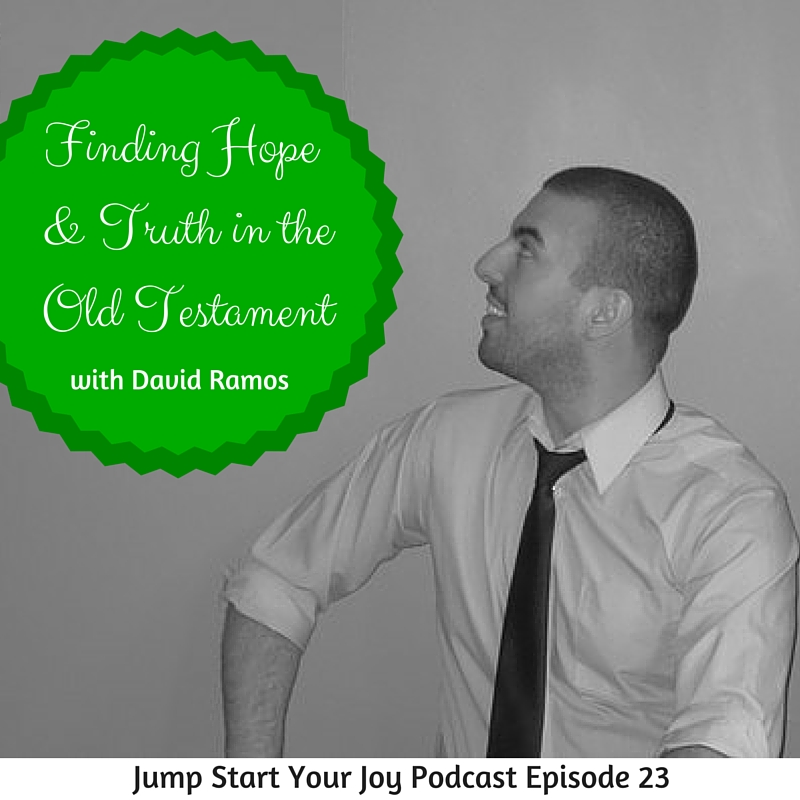 An interview with David Ramos on Jump Start Your Joy