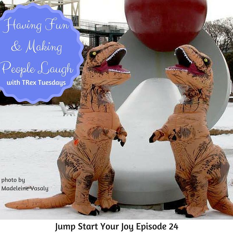 TRex Tuesdays interview on Jump Start Your Joy podcast