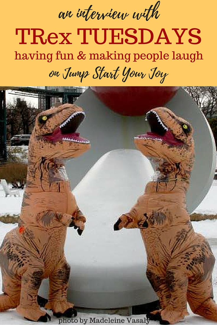 An Interview with TRex Tuesdays on Jump Start Your Joy