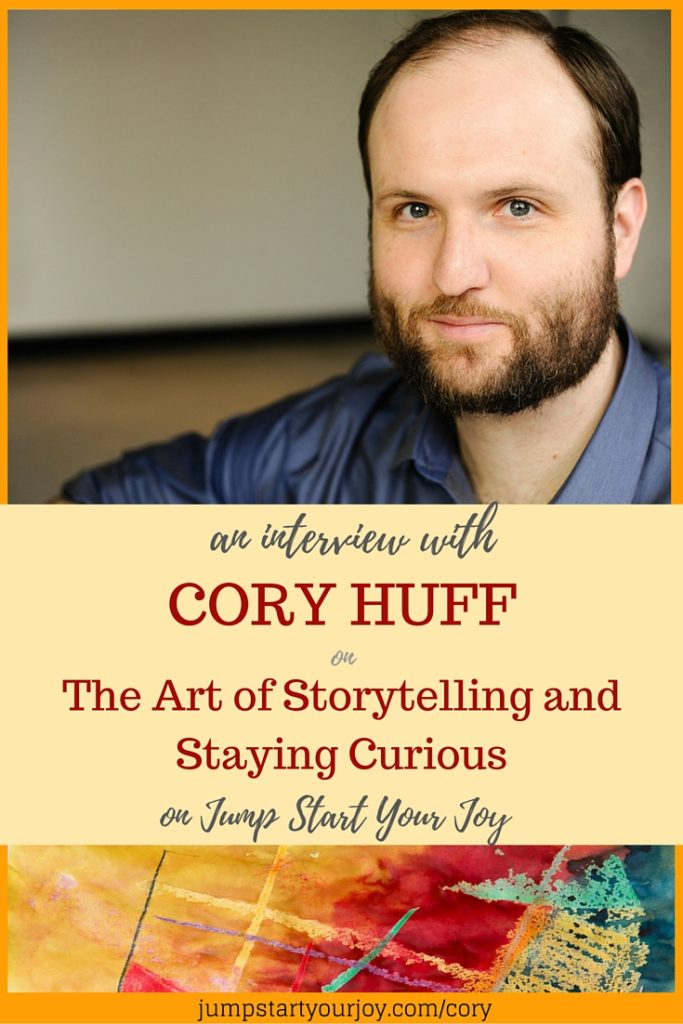 Cory Huff on of The Abundant Artist. In this interview he talks about the art of storytelling, staying curious, and how artists can market their work online. Click to listen and pin for later.
