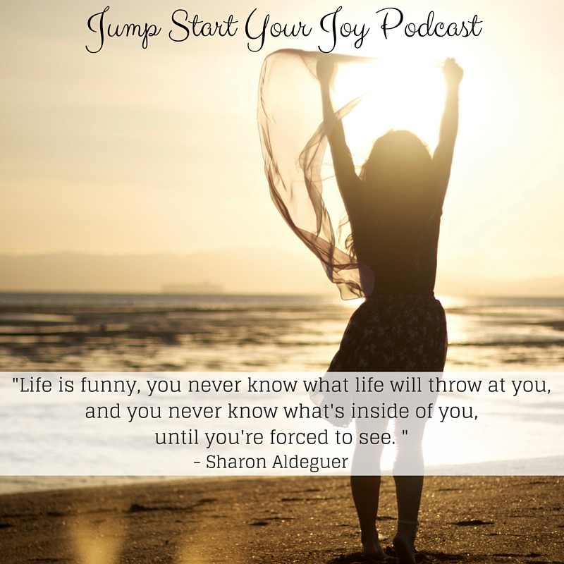 Embracing Joy and Living Your Bucket List after Brain Surgery with Sharon Aldeguer