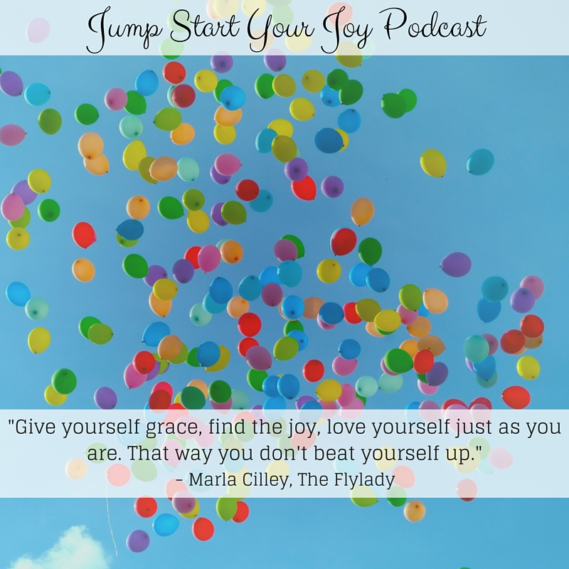 How to Form Habits and Routines to Create More Joy in Your Life with Flylady Marla Cilley
