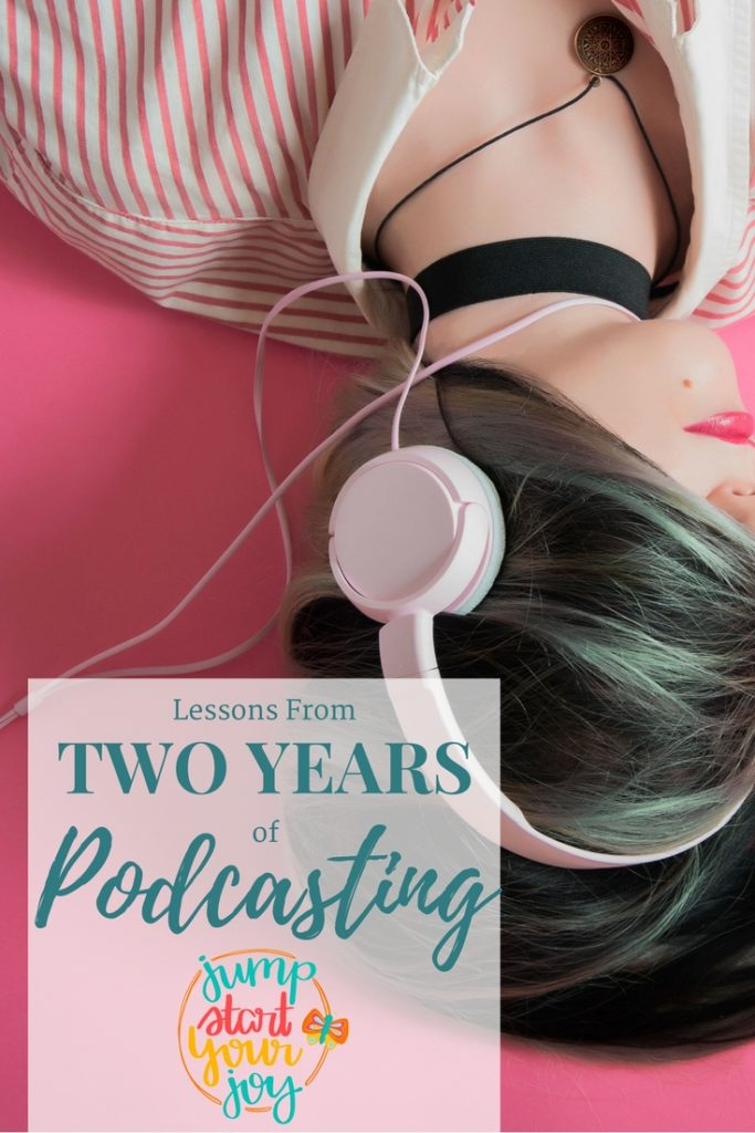 Wonder what it's like to have a weekly podcast, and publish it every week for two years? Veteran host Paula Jenkins shares her thoughts on her last two years of podcasting, and shares podcasting tips and tricks. Click to listen, and save for later. www.jumpstartyourjoy.com