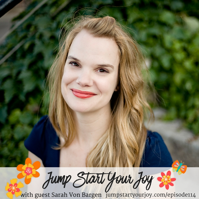 Crossroads of Money and Happiness with Sarah Von Bargen