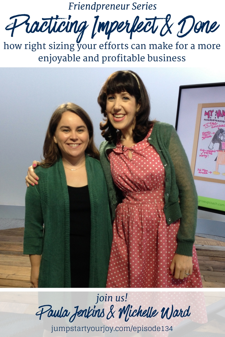 This interview is perfect for a new entrepreneur! Host Paula Jenkins speaks with Michelle Ward about common areas people get stuck when just starting a business. #podcast #entrepreneur