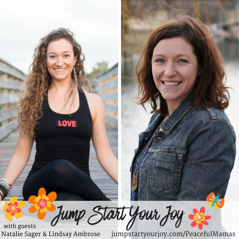 Natalie Sager and Lindsay Ambrose on Peaceful Mamas: The Mind, Body, and Baby Connection