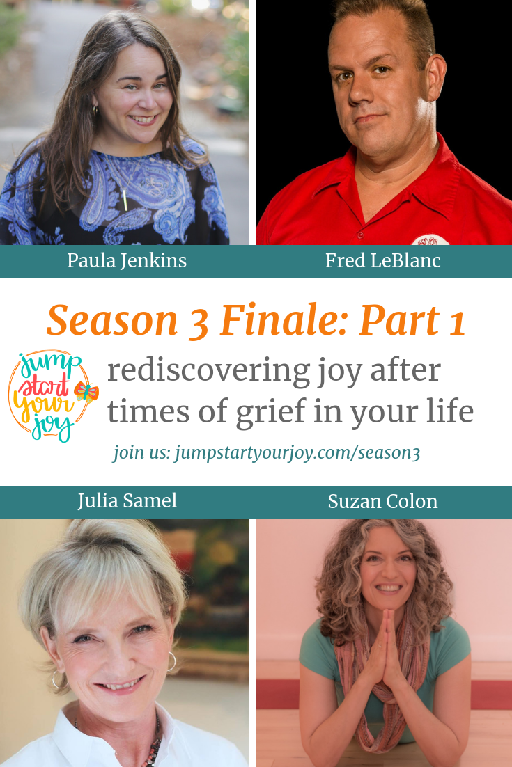 Join Host Paula Jenkins as she closes out season 3 with a look back on lessons learned from her guests. #grief #joy #podcast