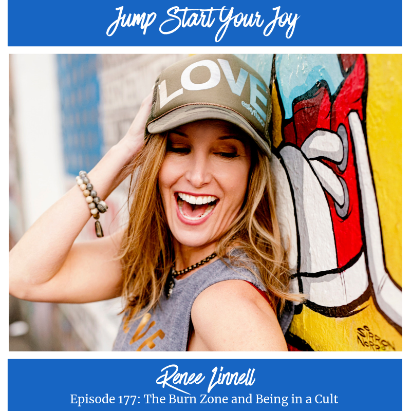 """Renee Linnell on """"The Burn Zone"""" and Being in a Cult"""