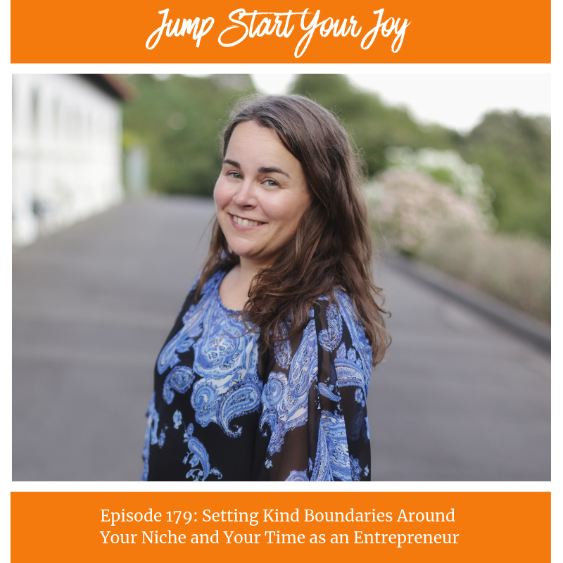 Setting Kind Boundaries Around Your Niche and Your Time as an Entrepreneur with host Paula Jenkins