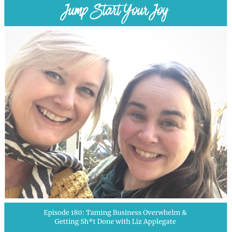 Liz Applegate on Taming Business Overwhelm and Getting Shit Done