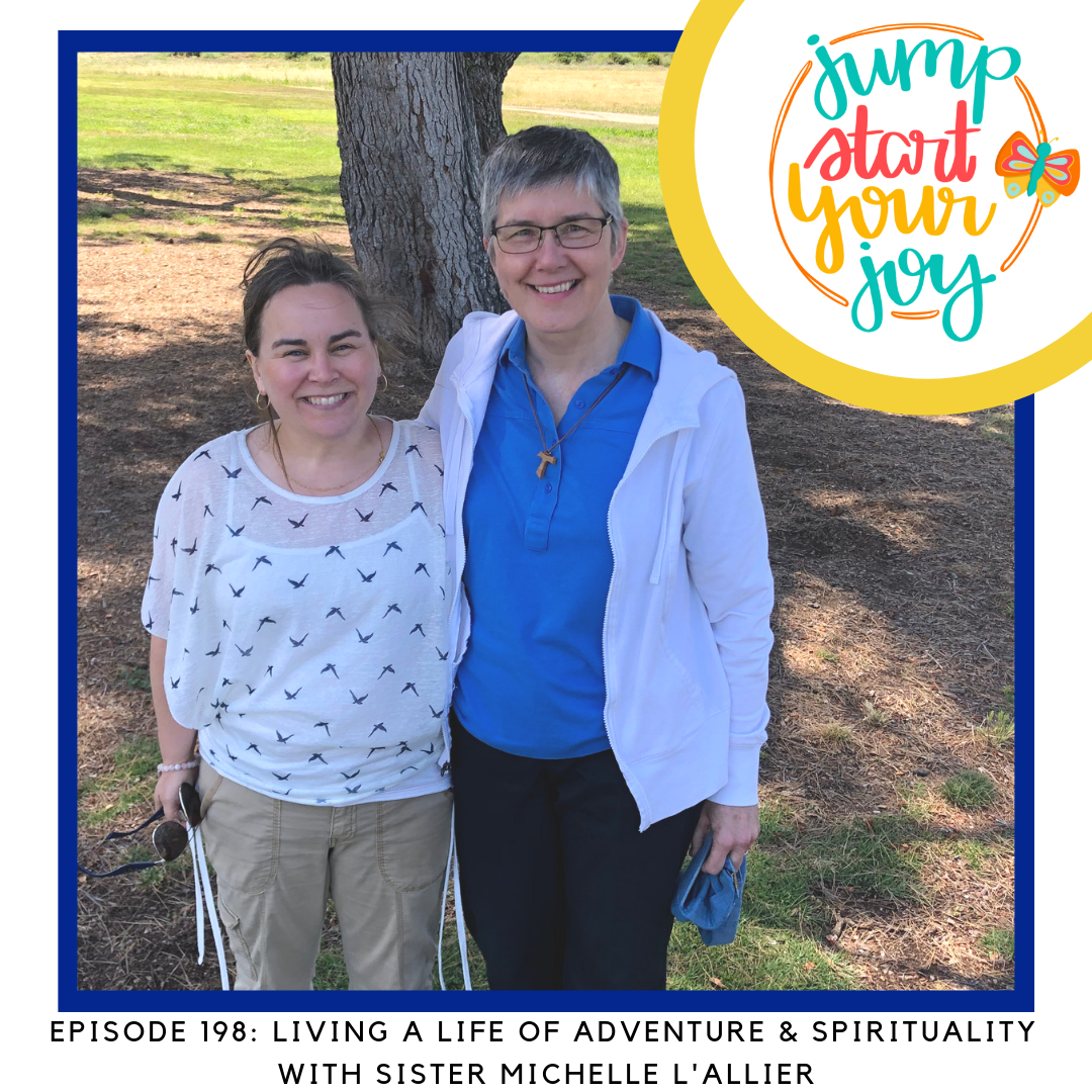 Franciscan Spirituality and Living A Life of Adventure with Sister Michelle L'Allier