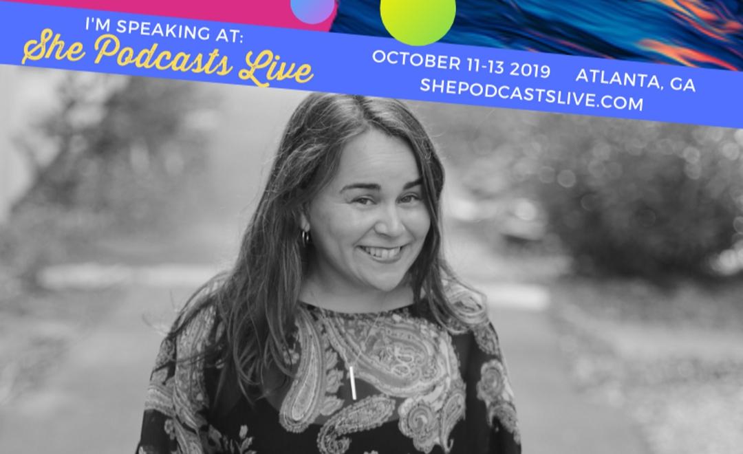 Paula Jenkins She Podcasts Live