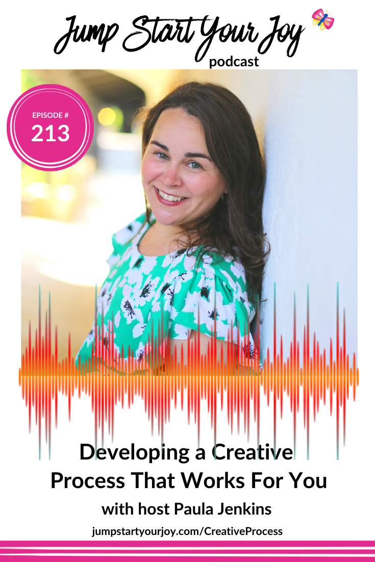 What does it take to create a podcast that you love, and can remain excited about, from a creative perspective? That's what I'm talking about in this week's show. Tune in! #podcast #creativeprocess #joy