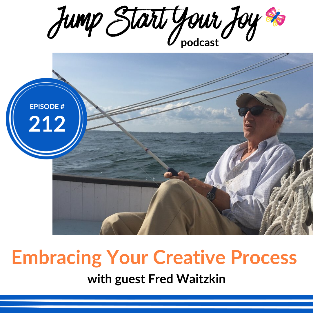 Embracing Your Creative Process with Best Selling Author Fred Waitzkin