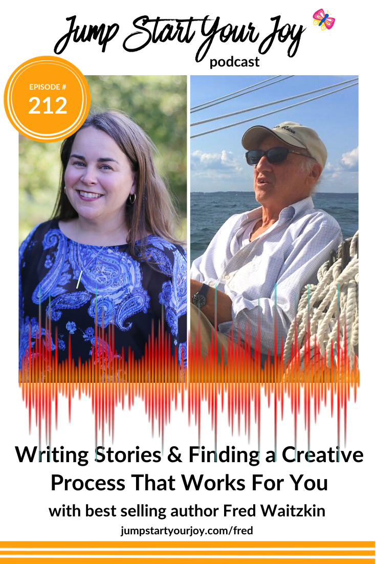 I see podcasting as a creative outlet, and have recently found myself studying the creative process of others. It was a real joy to get a glimpse into Fred's process, and hear about how he approaches writing. #podcast #creativeprocess #joy