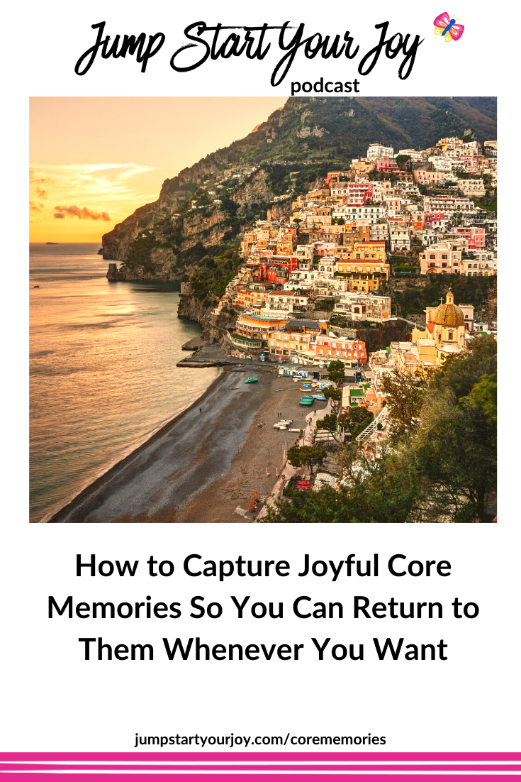 if you start taking note of those little moments that you feel great joy, you can go back to that feeling any time you want. #joyful #memories #choosejoy