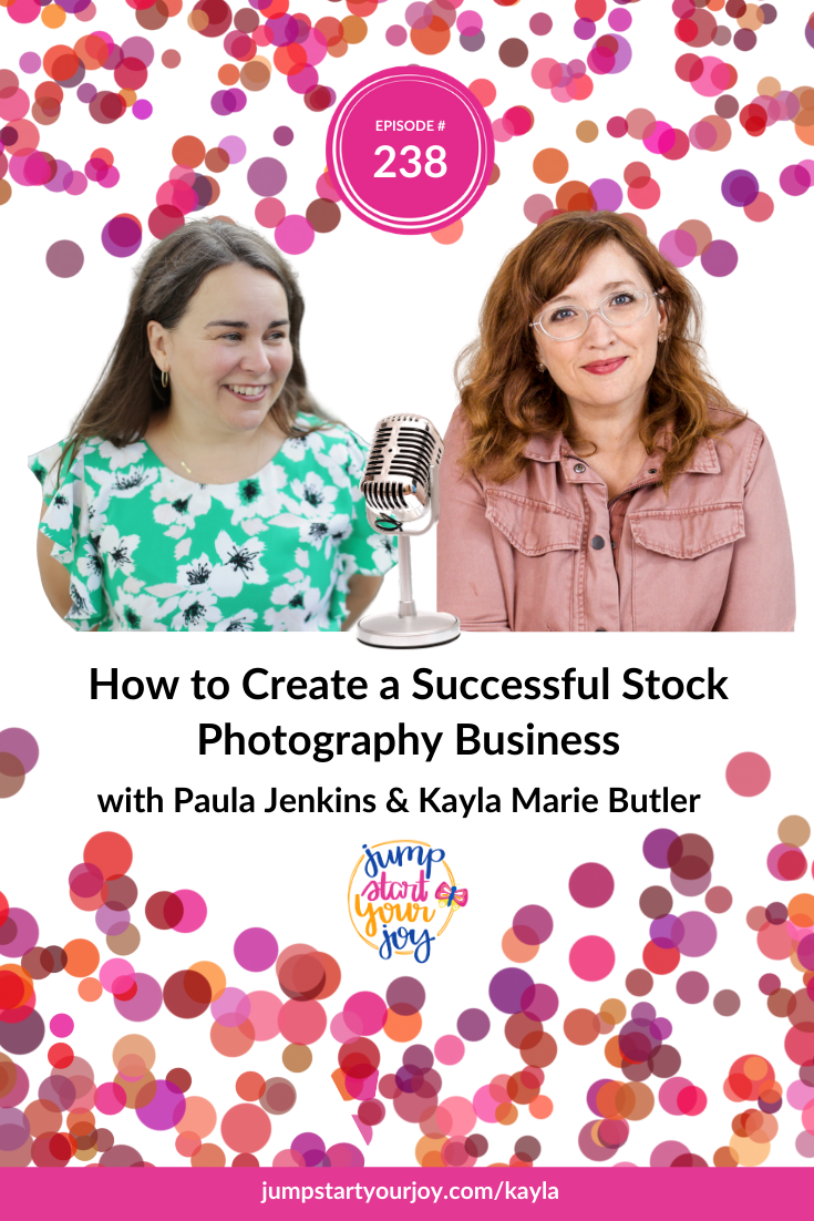 Kayla Butler joins host Paula Jenkins to talk about how she started her stock photography business 'Ivory Mix.' #podcast #entrepreneur #creativity
