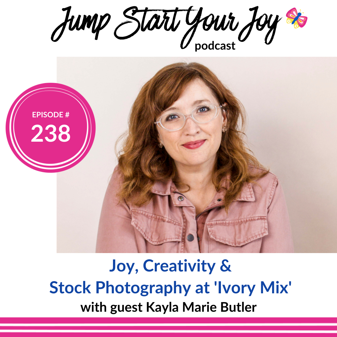 Joy, Creativity, and Stock Photography at 'Ivory Mix' with Kayla Butler