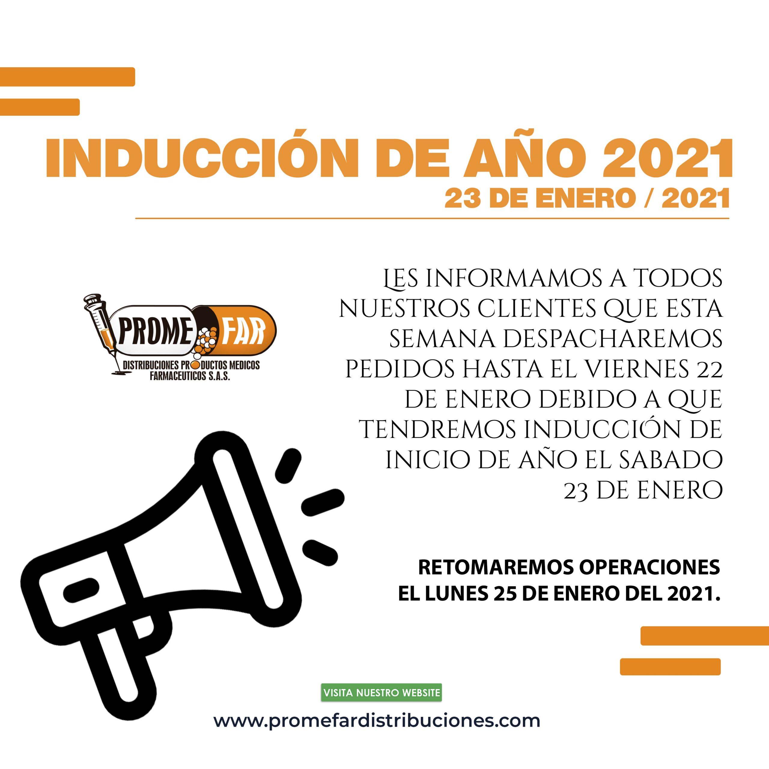 INDUCCIÓN DE AÑO 2021