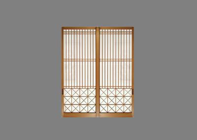 japanese Kumiko Window Pair