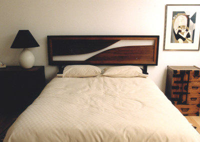 Japanese Wood Headboard