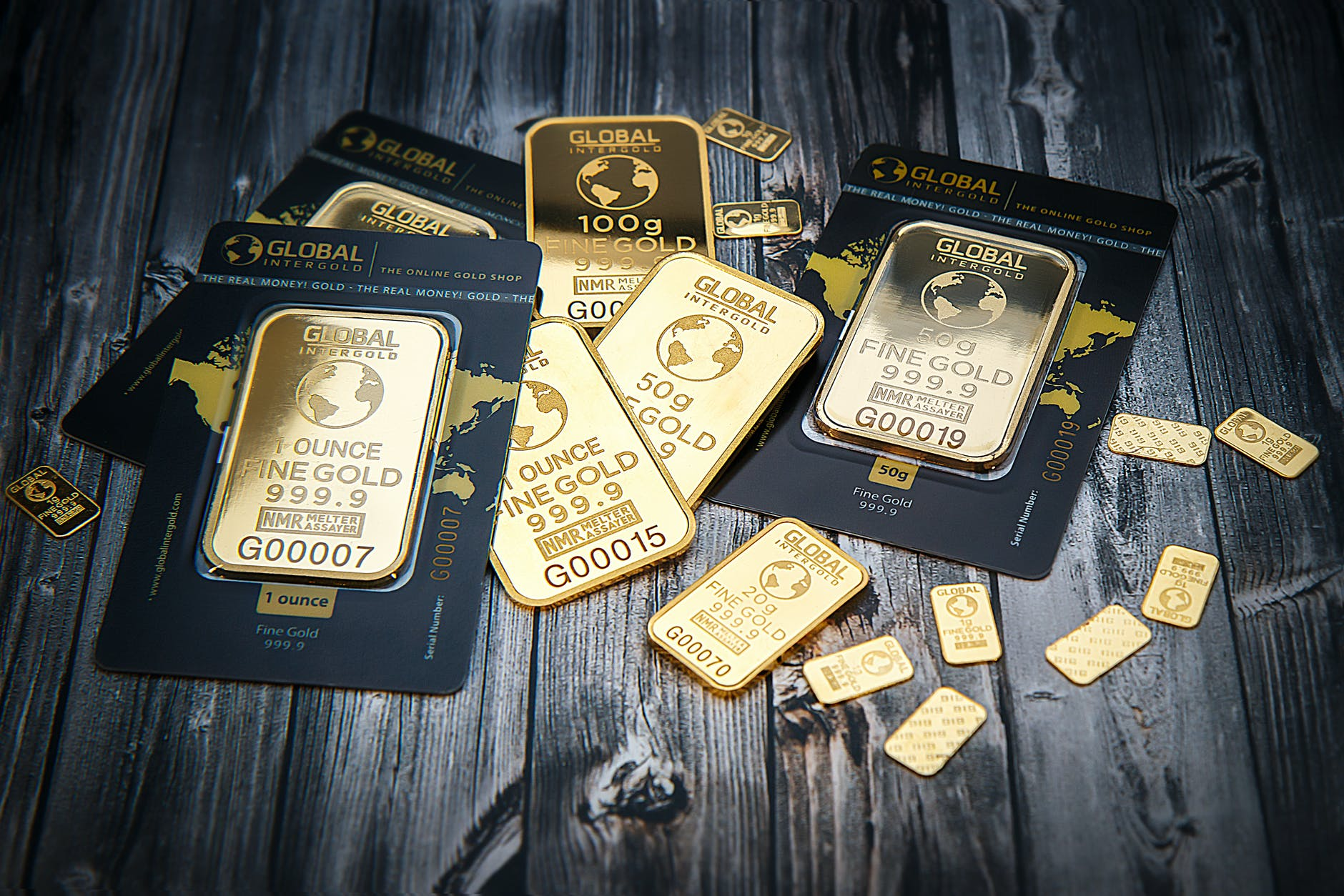 Invest in gold and you get a tangible commodity. This helps resist inflation of the Fiat currency that is the US dollar.