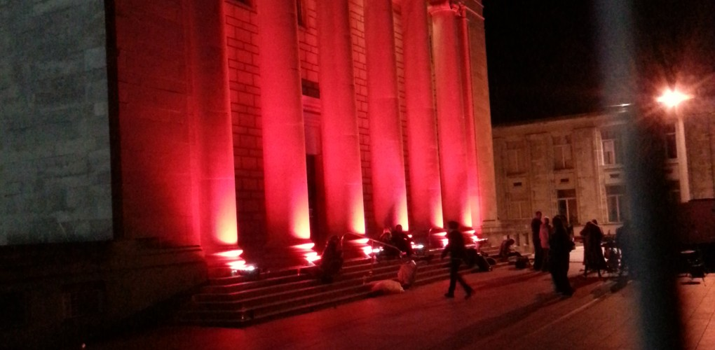 Southampton Guildhall Uplighting