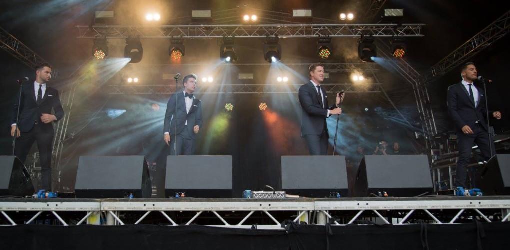 Jack Pack At Brentwood Festival 2015